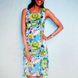 Talbots Island Floral Dress